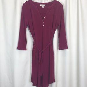 Dana Buchanan, 3/4 sleeve, pocket dress, PM, EUC.